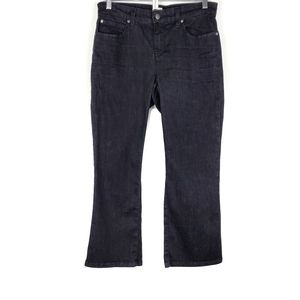 Eileen Fisher Organic Cotton Boot Cut Jeans SZ 4